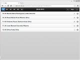 Módulo Web - Fisio: Lista de Trabalho
